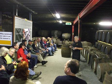 ラガブーリン 古酒 貯蔵庫